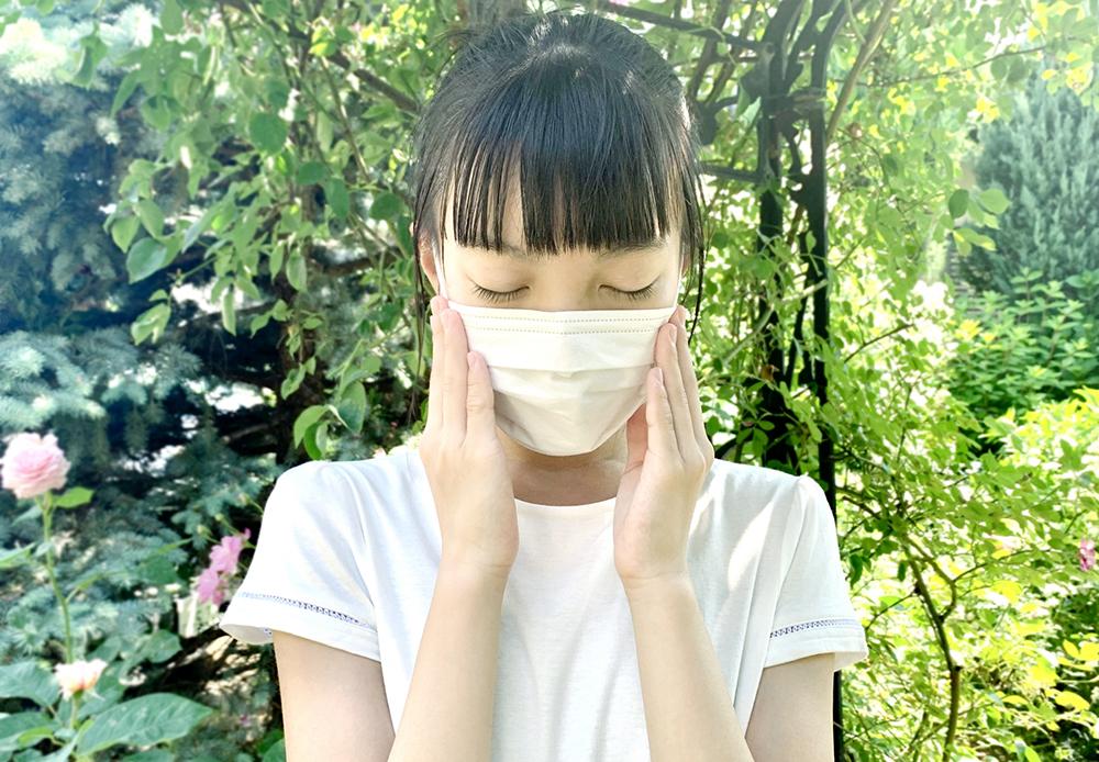 紫外線対策 マスク 効果